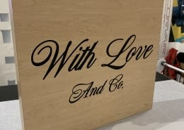 CNC Cut Outdoor Blade Sign