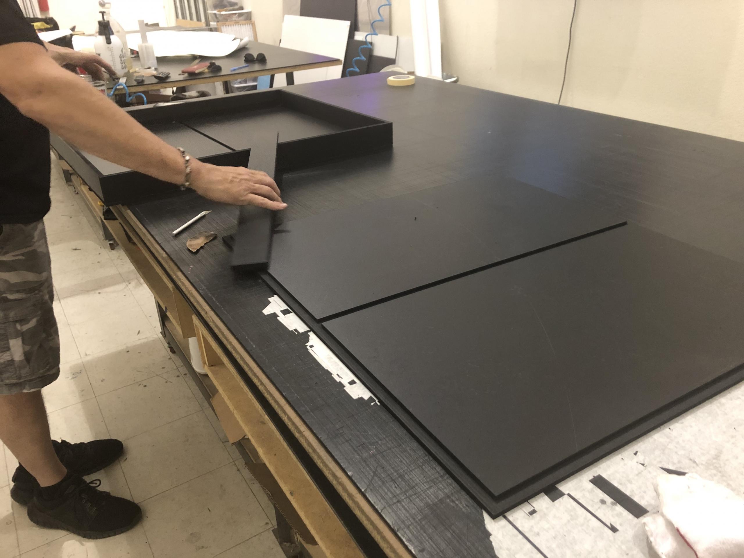 CNC Cut Outdoor Blade Sign