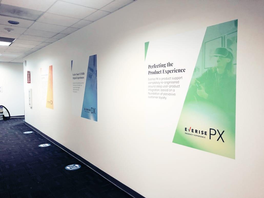 Direct to Wall Adhesive Vinyl Prints