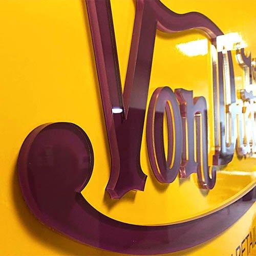 Von Dutch 3D Logo